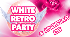 White Retro Party